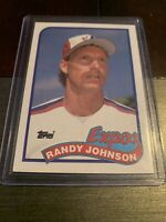 Randy Johnson 1989 Topps Baseball #647 Rookie Card RC Montreal Expos HOF MLB