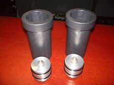 14+ HARLEY DAVIDSON TOURING FRONT AIR RIDE FORK LIMITERS WITH STOPS + PISTONS NR