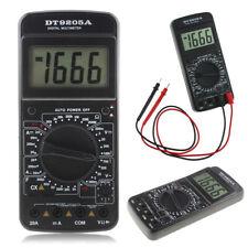 DT9205A Digital AC/DC Electric Handheld Ammeter Resistance Capacitance Test Tool