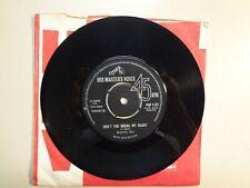 "MICHAEL COX:(w/Ritchie Blackmore)Don't You Break My Heart-U.K. 7"" 63 H.M.V. 1137"