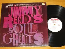 "STEREO BLUES LP - JIMMY REED - UP FRONT 101 - ""JIMMY REED'S SOUL GREATS"""