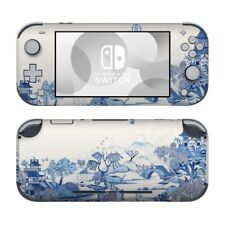 Nintendo Switch Lite Skin - Blue Willow - Decal Sticker DecalGirl