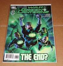 Green Lantern #67 JG Jones Variant Edition 1st Print Geoff Johns