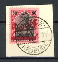 Danzig MiNr. 40 Briefstück Infla geprüft (H110