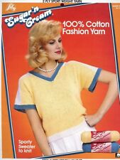 Women's Sporty Sweater to Knit Lily Pattern Sz. S-M-L - 30 Days to Shop & Pay!