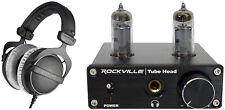 Beyerdynamic DT-770-PRO-250 Closed Back Studio Headphones + Tube Headphone Amp