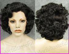 Natural Short Curly Black Lace Front wigs Wavy Women Lace hair wig Mother's Day