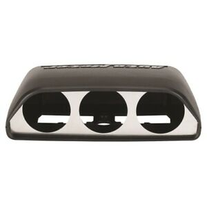 """Auto Meter 5287 Direct Fit Dash Top Triple Gauge Pod 2-1/16"""" For Challenger NEW"""