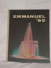 The '65 Emmanuel Emmanuel College Yearbook Franklin Springs Georgia