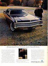 1969 Chrysler Imperial LeBaron 4- door hardtop PRINT AD