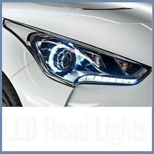 LED Projection Head Lights Lamp Assembly 2p For 11-16 Hyundai Veloster & Turbo