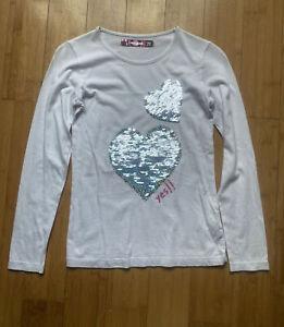 DESIGUAL Girls Multicoloured Alice in Wonderland vest Tshirt 9//10,11//12,13//14yr