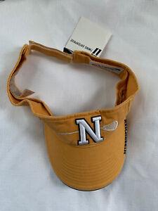 NWT Navy Midshipman Lacrosse Lax Embroidered Visor Hat Adjustable Naval Academy