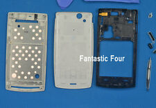 silver Full Housing Cover Case for Sony Ericsson Xperia Arc S X12 LT18i LT15