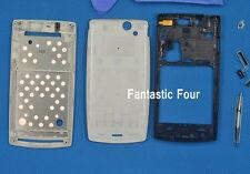 Plata Completo Carcasa Funda Protectora Para Sony Ericsson Xperia Arc S X12 Lt18i Lt15
