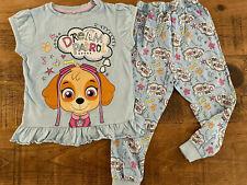 Girl age 2-3 years PAW Patrol Skye Dream Patrol Pajama Set Short Sleeve Combine