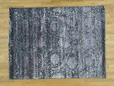 "5'10""x7'10 Handspun Wool and Silk Gabbeh Thick And Plush Handmade Rug G33971"