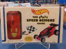 1994 Hot Wheels The Crazy Speed Demons Game With Red Speed Fleet