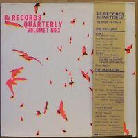 VA Re Records Quarterly Vol. 1 No. 3 LP +Booklet R WYATT Cassix NAZCA P Blegvad…