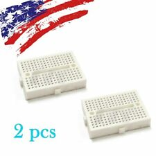 2pcs 170 Mini Solderless Prototype Breadboard for Arduino Shield White