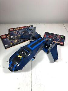 Lego X-men Vs Sentinel 76022 Blackbird SR-71 X-Jet Superheroes Plane Instruction