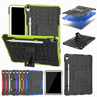 For iPad Pro 11 Inch 2018 TPU PC Heavy Duty Rugged Shockproof Case Stand Cover