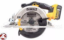 "DeWALT DCS391 20V MAX Li-Ion Cordless 6 1/2"" Circular Saw DCB205 5.0 Ah Battery"