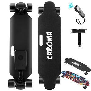 700W Elektrisch Elektro E-Skateboard Longboard mit Fernbedienung Doppelmotor DHL