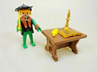 Playmobil Klicky Spielset aus 3375 Patrizier Aristokrat Hut Feder Tisch Buch