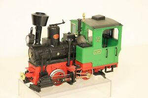 LGB Lehmann - Moncalieri 2 - Tank Steam Locomotive Gauge G - with Light - Item