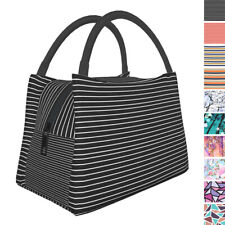 Insulated Lunch Bags Thermal Bento Picnic Cooler Tote Women Office School Purse