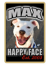 PERSONALIZED PET SIGN YOUR PHOTO/TEXT ALUMINUM FULL COLOR CUSTOM ART PANEL 4