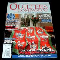 Australian Quilting Companion Magazine ~ March/April 2011 ~ Civil War Quilts ++