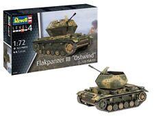 "REVELL Flakpanzer III""Ostwind"" (3,7 cm Flak 43) 1:72 Tank Model Kit 03286"