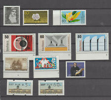 Germany 1983  Commemoratives  selection MNH