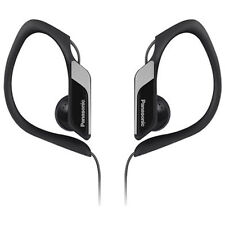 PANASONIC WATER/SWEAT RESITANT IN EAR SPORTS HEADPHONES - BLACK - RPHS34