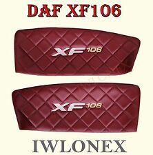 2x LKW TRUCK Türverkleidung Door Türpappen Türpolsterung DAF XF106 Euro6
