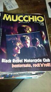 Rivista/Magazine MUCCHIO SELVAGGIO #474 19 febbraio 2002 -BLACK REBEL MOTORCYCLE