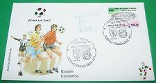 RARE ITALIA 90 16/06/1990 BRESIL - COSTA RICA TORINO COUPE MONDE FOOTBALL