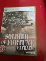 Soldier of Fortune Payback Xbox 360 UK PAL **FREE UK POSTAGE**
