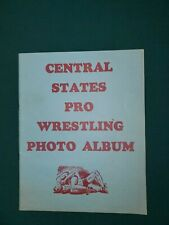 1970's - Central States Pro Wrestling Photo Album w/ Andre The Giant