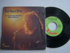 SP 2 TITRES VINYLE 45 T , TEN YEARS AFTER , ID LOVE TO CHANGE . G  / VG +