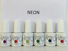 Harmony Gelish RIO NEON Collection. Set of 6 Colors Full Size 0.5 oz