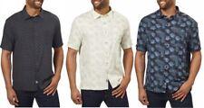 Nat Nast Men's Silk- Cotton Blend Shirt
