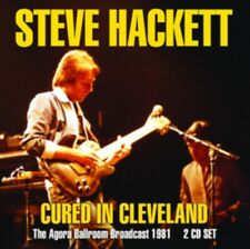 Steve Hackett - Cured In Cleveland (2cd) NEW 2 x CD