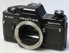 (PRL) PRAKTICA B100 BODY 35 mm SLR SPARE PARTS FOTORIPARATORE REPAIR REPARATION