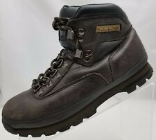 Timberland Euro Hiker Trail Leather Brown Comfort Rugged Womens Boots Size 8M