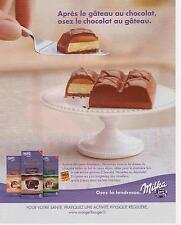 ▬► PUBLICITE ADVERTISING AD Chocolat Chocolate MILKA 2013