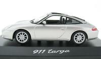 MINICHAMPS - PORSCHE 911 Targa - silber metallic - 1:43 Modellauto Model Car