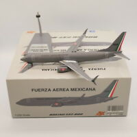 JFOX 1:200 Fuerza Aerea Mexicana Boeing 737-800 Diecast Aircraft Model #3528